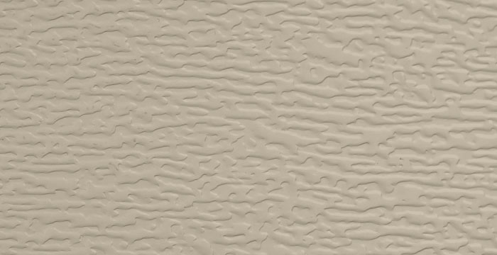 Sandstone Color Garage Door