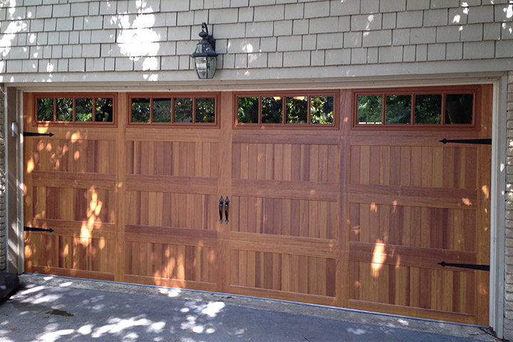 Classic Carriage House Wood Doors