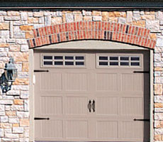 Carriage House  Steel Garage Doors