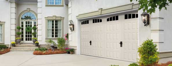 Steel Garage Door - Oak Summit Collection