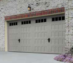 Oak Summit Collection Steel Garage Doors