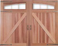 Presidential Series Wood Garage Doors