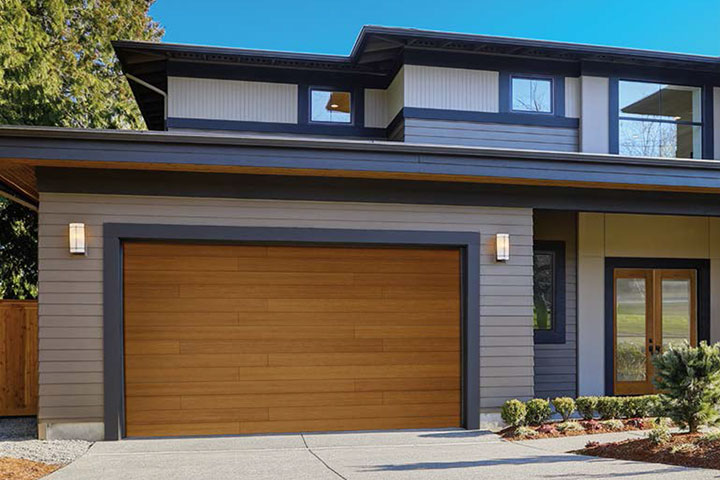 Modern Garage Doors - Canyon-Ridge - Plank Design 3
