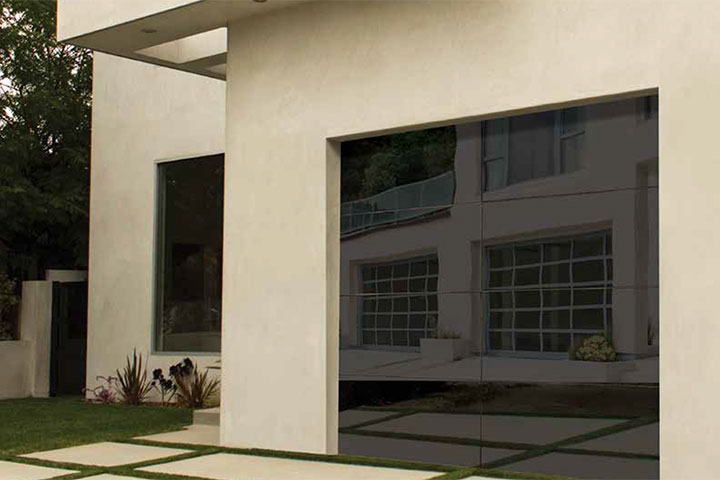 Modern Garage Doors - Aluminum Model 8450 Luminous 2