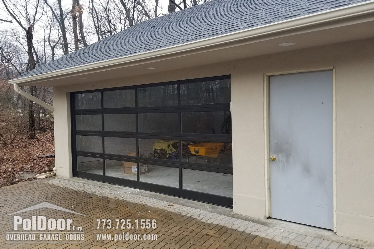 Modern-Aluminum-Hormann-Garage-Door,-Downer-Grove,-IL